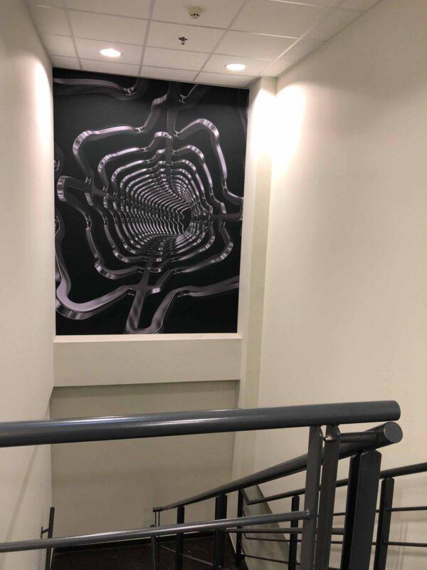 Print op canvas groot formaat muur Terumo.