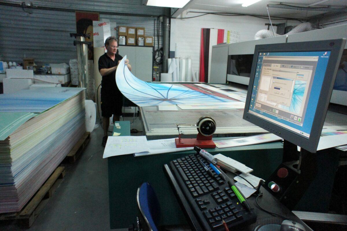 Printen groot formaat bij White Light.