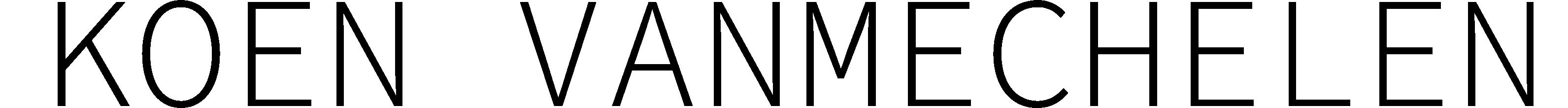 Logo klant van White Light: Koen Vanmechelen