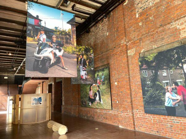 Print grote foto's voor Tentoonstelling Ferm Portret op C-mine in Genk